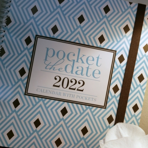 pocket calendar 2022